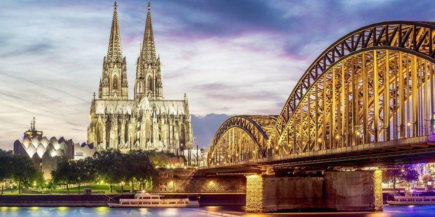 Treffpunkt für Messegäste: Köln hat ein starkes Eventgeschäft