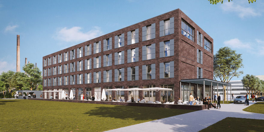 So soll's aussehen: Das künftige Hotel auf der Zeche Zollverein