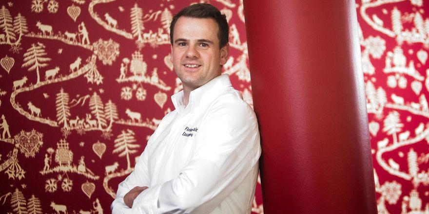 Stellt sich neuen Herausforderungen: Florian Mainzger ist ab Oktober Executive Chef im Arosa Kulm Hotel & Alpin Spa