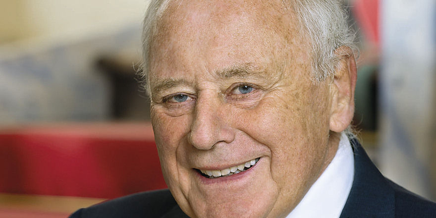 """Reinold Würth: """"Ich bin sehr hinter dem Wort Dienstleistung her."""""""