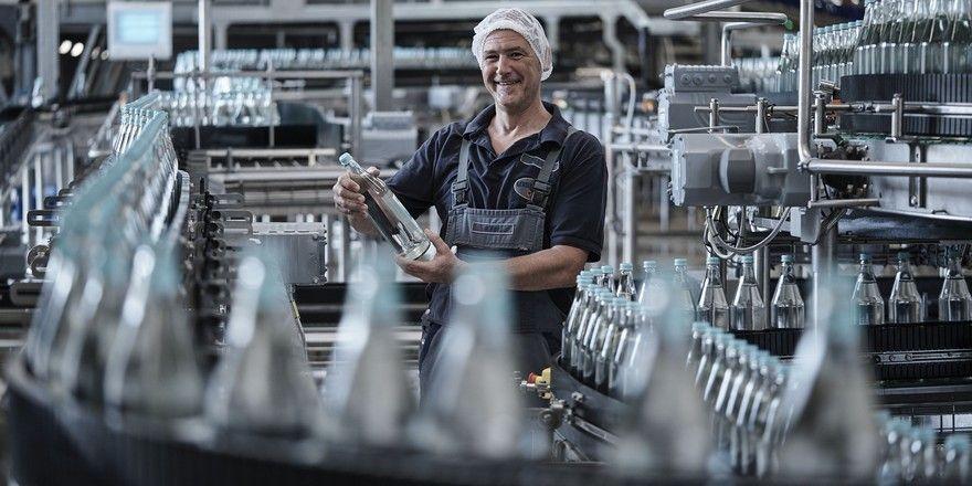 Gut aufgestellt: Gerolsteiner konnte von den sommerlichen Temperaturen des Jahres profitieren und beim Absatz aller Mineralwassersorten zulegen.