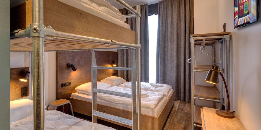 Mehrbettzimmer: So schläft es sich im Meininger Berlin Tiergarten