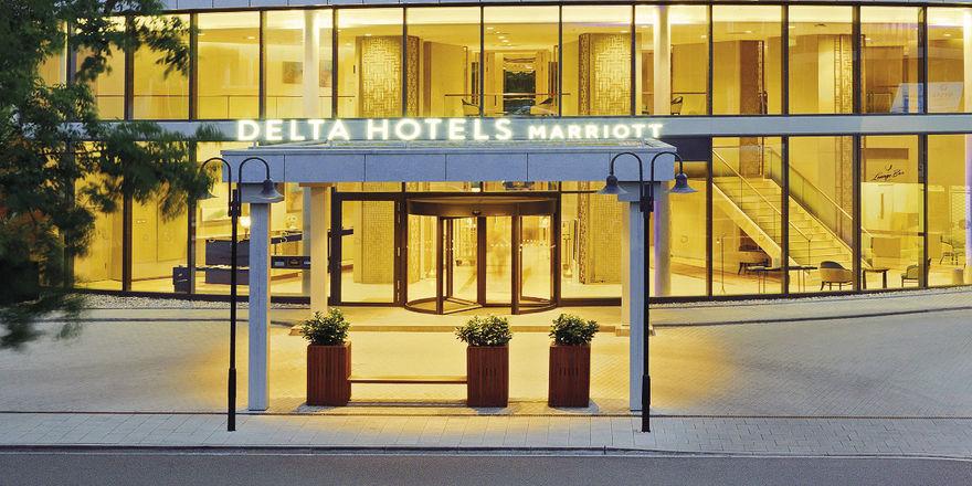 Bekommt Gesellschaft: In der Umgebung des Delta-Hotels sind viele Neueröffnungen geplant.