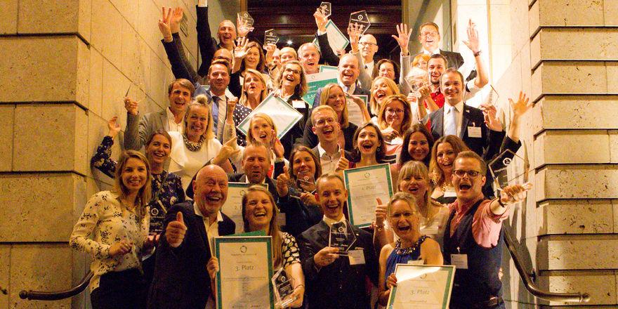 Gut gelaunt: Die Sieger der Hospitality HR Awards 2018
