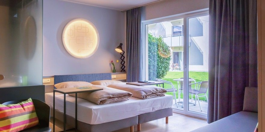 Modern und mit gedeckten Farben eingerichtet: Die neuen Studios der Harry's Home Hotels