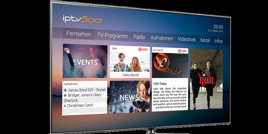 Multifunktionsfähig: Mit den modernen Screens kann der Gast weitaus mehr als normales Fernsehen abrufen