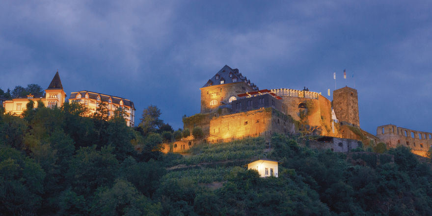 Begehrt: Das Romantik Hotel Schloss Rheinfels gehört derzeit der Stadt St. Goar.