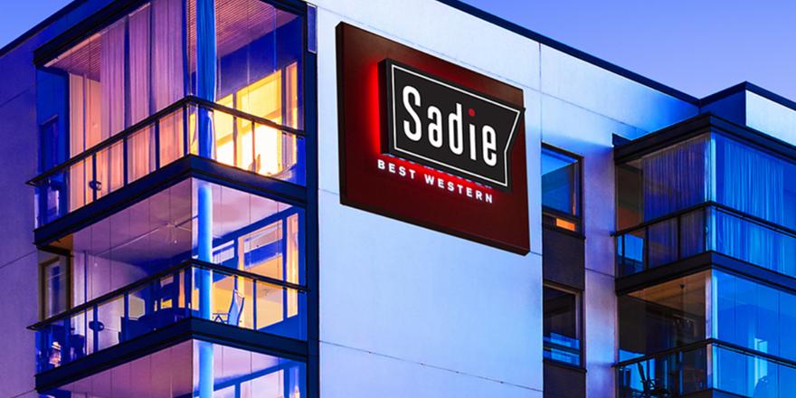 Zielt auf das gehobene Segment: Das Sadie ist eine der zwei neuen Marken von Best Western (Screenshot Best Western)