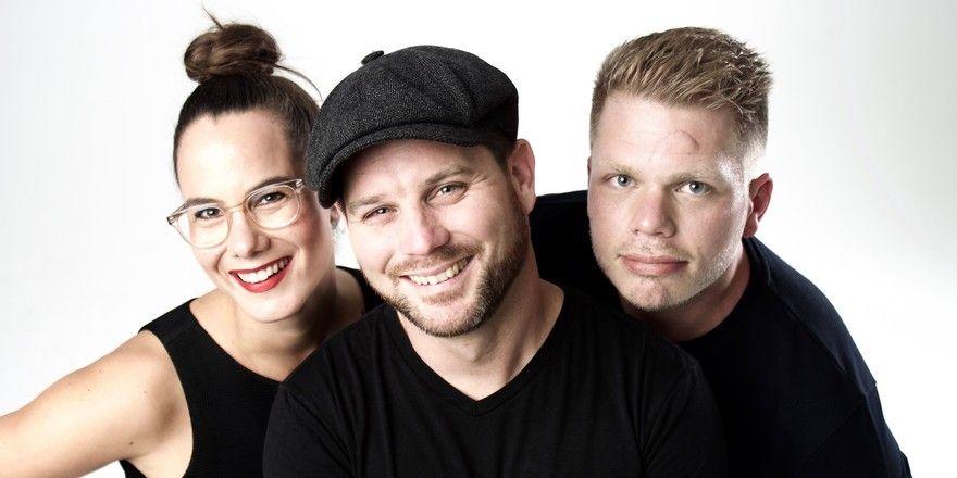 Gastro-Trio auf der Alm: (von links) Eva-Miriam Gerstner, Emmanuel Rosier und Alexander Nixdorf starten gemeinsam im Almgasthof Windischgrätzhöhe in Bad Gastein durch