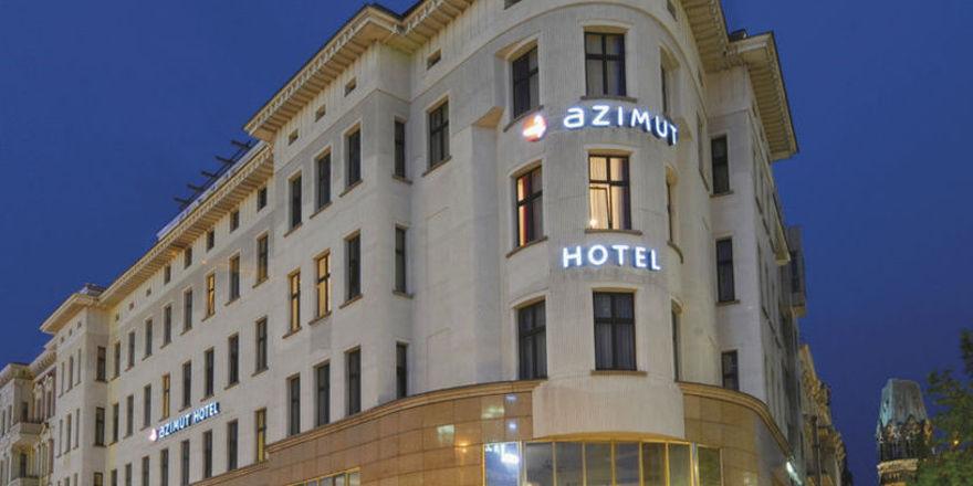 Soll auch bald mehr Energie sparen: Das Azimut Hotel in Berlin