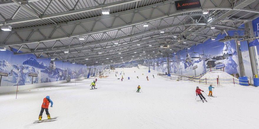 Firmiert unter neuem Namen: Das Allrounder Mountain Resort wurde in Alpenpark Neuss umbenannt. Der Freizeitpark beherbergt eine der bekanntesten Skihallen Deutschlands
