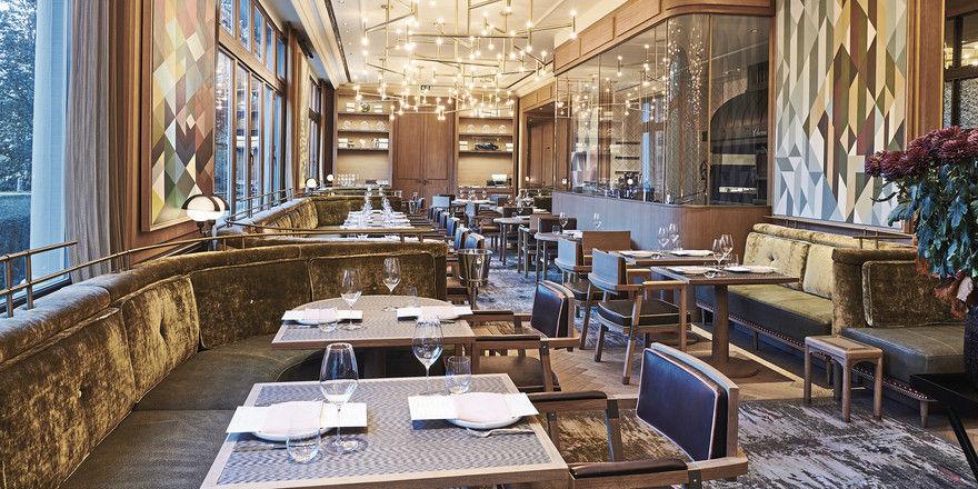 Willkommen bei Fritz & Felix im Brenners Park-Hotel in Baden-Baden: Das neue Restaurant bietet Platz für 54 Gäste