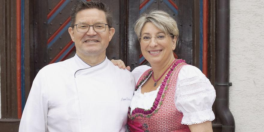 Ausgezeichnet: Sylvia Polinski, hier mit ihrem Mann Markus