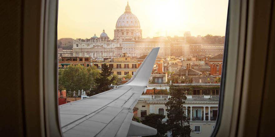 Vom Flugzeug direkt ins Hotel: Das neue Radisson Blu Rome Fiumicino International Airport ist an den Flughafen in Rom angeschlossen