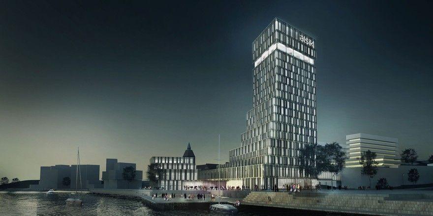 Soll größtes Wellness- und Tagungshotel der Region werden: Das Alsik im dänischen Sønderborg
