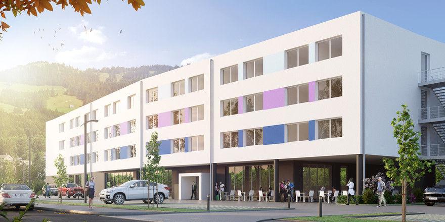 Klare Linien: So soll das Best Western Hotel Junge Donau in Immendingen aussehen (Rendering)