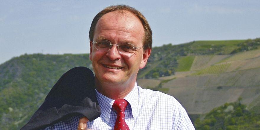 Sieht das Hotel Schloss Rheinfels als sein Lebenswerk: Hotelchef Gerd Ripp