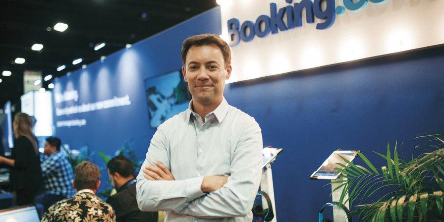 Er kennt sich in Sachen Ferienwohnungen aus: Booking.com-Vice-President Olivier Grémillon war zuvor lange Zeit für Airbnb tätig.