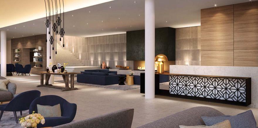 Modern: Die Lobby im Ameron Hotel Neuschwanstein - oder doch Hohenschwangau?
