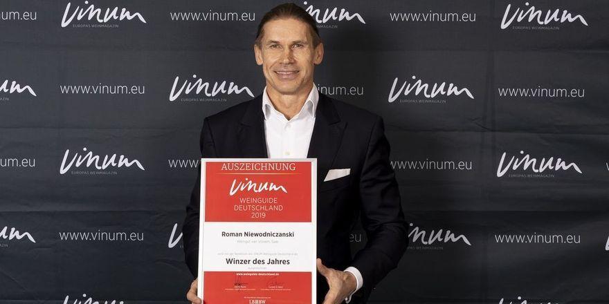 Top-Weinerzeuger aus einer Bier-Dynastie: Roman Niewodniczanski ist Winzer des Jahres im Vinum Weunguide