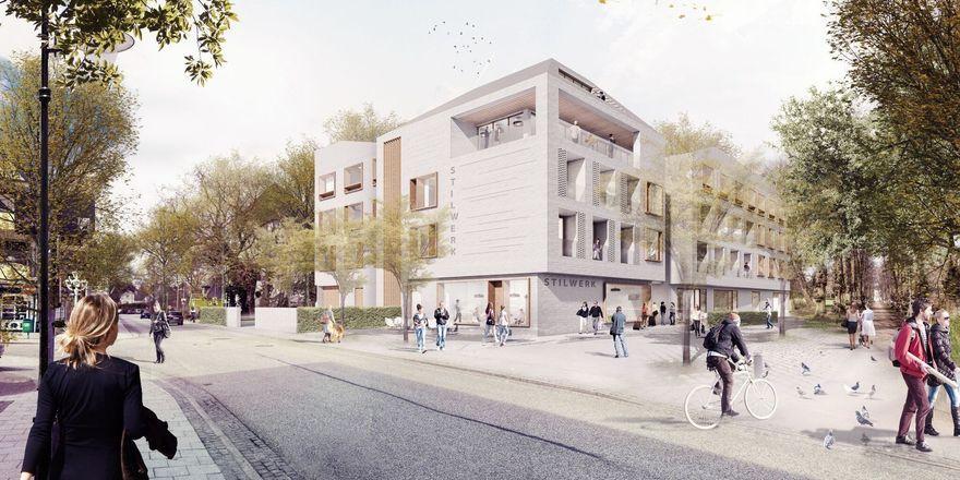 So soll's aussehen: Das geplante Hotel von Stilwerk in Travemünde (Rendering)