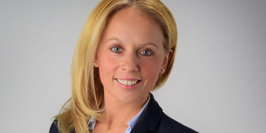 Steigt auf: Manja Heidenreich ist General Manager im Holiday Inn Express Köln-Mülheim