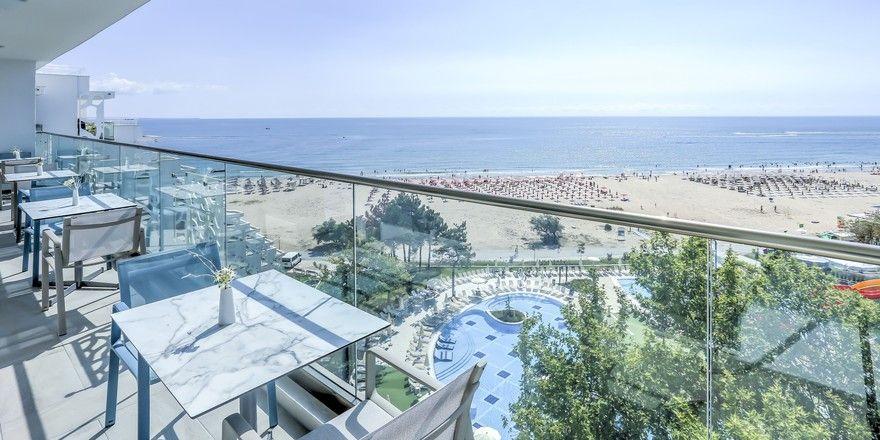 Top-Strandlage: Das künftige Maritim Hotel Paradise Blue Albena.