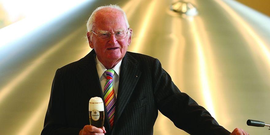 Unvergessener Firmenchef: Dr. h. c. Friedrich Schadeberg wird bei Krombacher auch posthum eine Rolle spielen