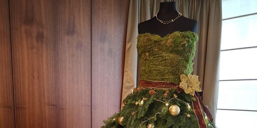 Weihnachts-Haute-Couture im Althoff Hotel am Schlossgarten in Stuttgart