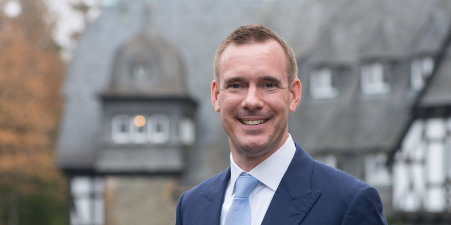 Neue Aufgabe: Andreas Wieckenberg ist Direktor im Schlosshotel Kronberg