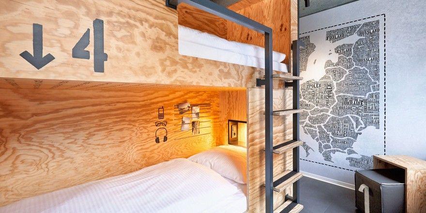 So sieht's aus: Eines der Zimmer im ersten Haus der Marke H.ostel in Münster