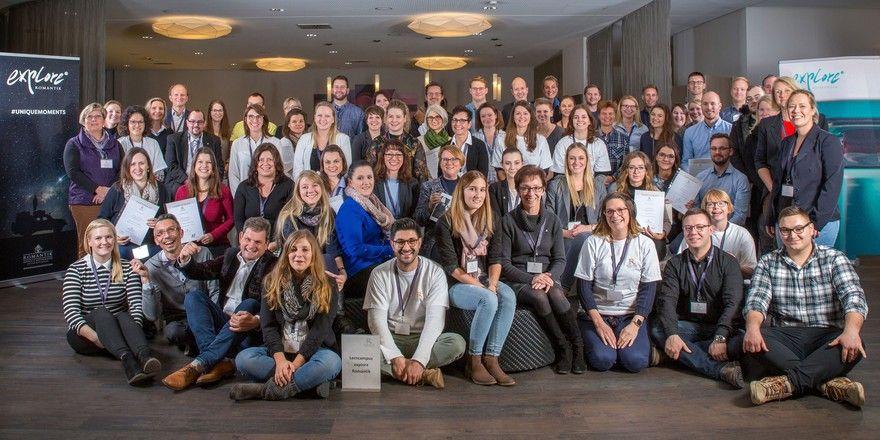 Haben am ersten Romantik-Lerncampus teilgenommen: 100 Mitarbeiter aus neun europäischen Ländern