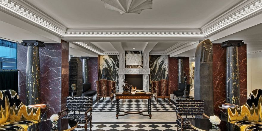 Luxuriös: Die Lobby im Hôtel de Berri in Paris