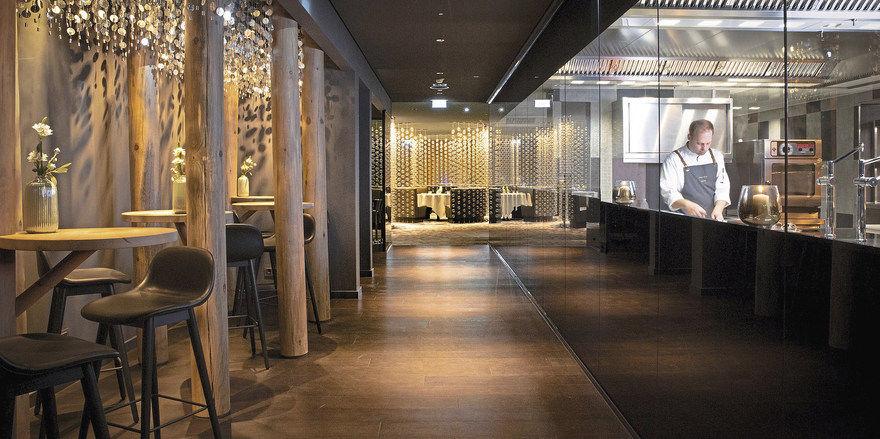 Ist gerade eröffnet worden: Das Fine-Dining-Restauant Ösch Noir.