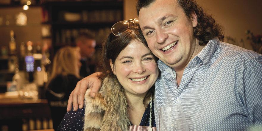 Führen das Restaurant Bachstelze: Maria Groß und Matthias Steube.