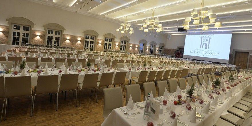 Testlauf: Vergangenes Wochenende testeten 520 Gäste das neue Klosterforum