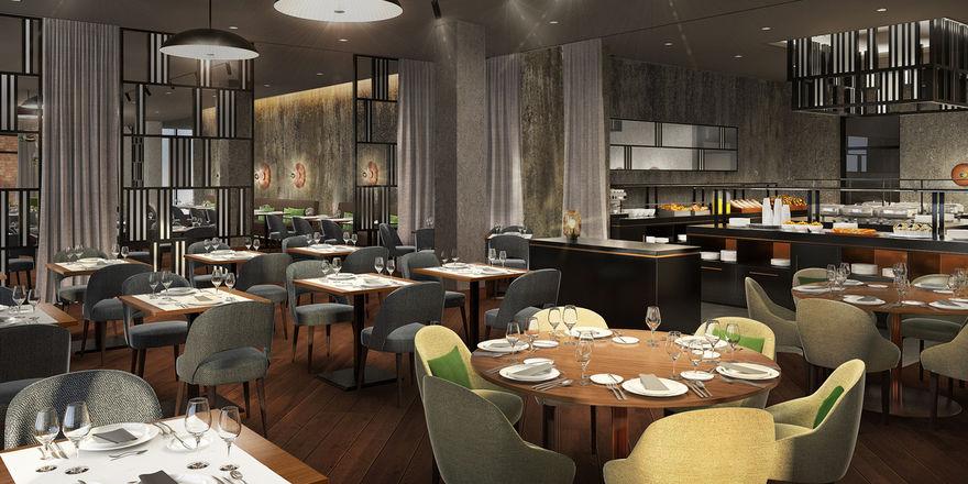 Full-Service-Hotel: Das NH Mannheim will auch mit seinem Restaurant punkten