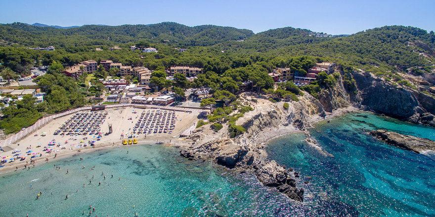 Mit Meerblick: Hapimag-Anlage in Paguera, Mallorca