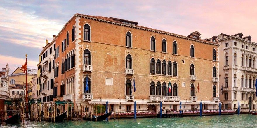 Außergewöhnliche Destinationen: Damit wirbt Marriott, hier das Gritti Palace in Venedig
