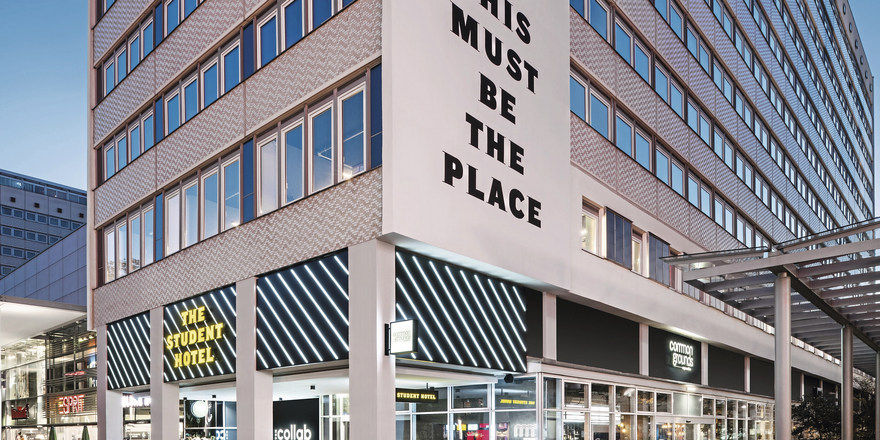 Neuer Treffpunkt in Dresden: The Student Hotel will Studenten, Businessreisende und Einheimische zusammenbringen.