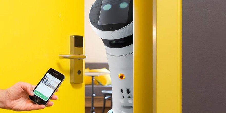 Zurzeit im Labor: Der Roboter aus dem Wiener Hotel Schani