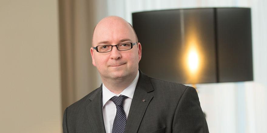 Neue Herausforderung: Eberhard Haist ist General Manager im Mercure Hotel Bielefeld Johannisberg