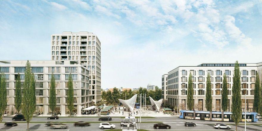 So soll's aussehen: Das künftige Hyatt Andaz in München-Schwabing