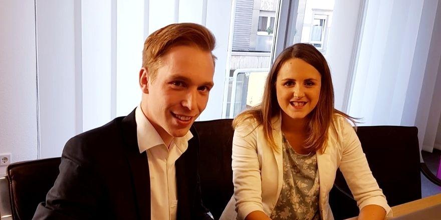 Stabsübergabe: Der neue CEO Marco Dickel mit seiner Vorgängerin Deborah Schubert