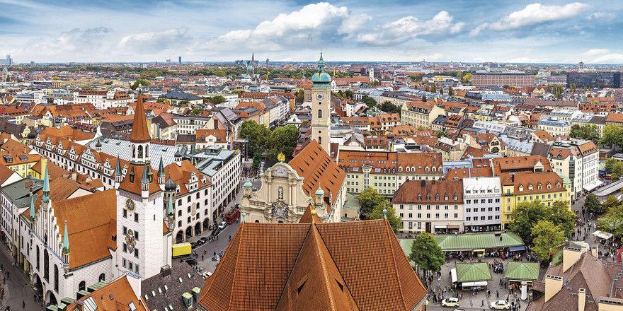 Starker Hotelmarkt: Der bei Betreibern beliebte Standort München erwartet 2019 und in den Folgejahren zahlreiche Hoteleröffnungen