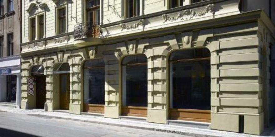 Hier wird es einziehen: Die Fassade des künftigen Innside Prague Old Town