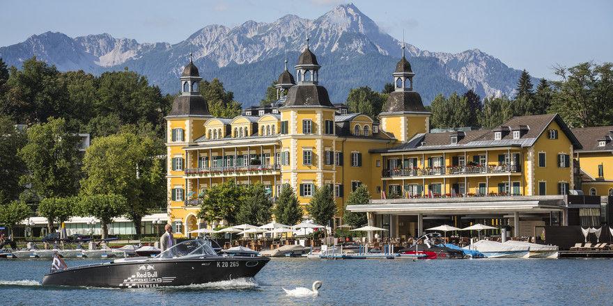 Gehört zum Portfolio der Falkensteiner Hotels & Residences: Das Schlosshotel Velden am Wörthersee