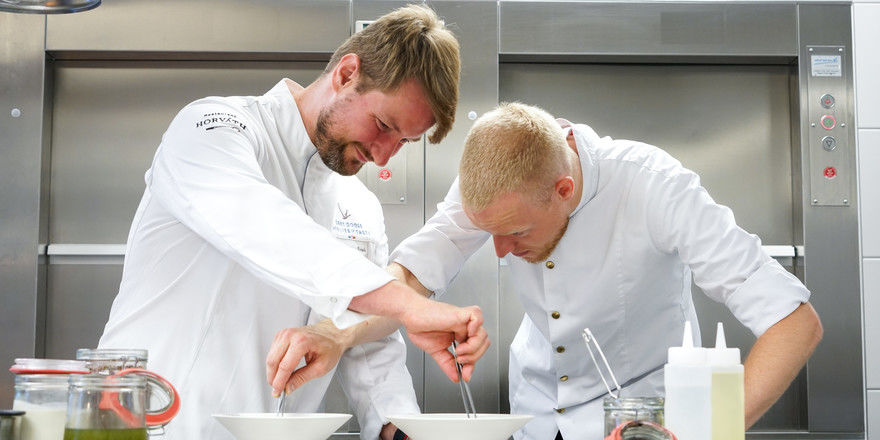 Mit von der Partie: Sebastian Frank (links) und Andreas Rieger