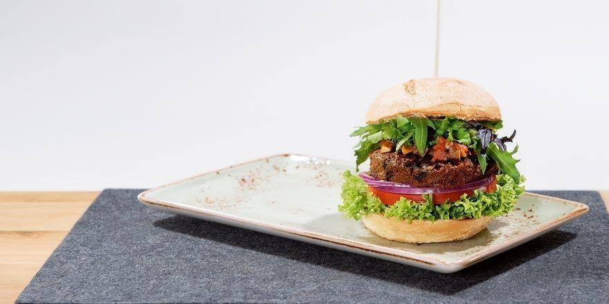 Neu im Angebot: Bei Hans im Glück gibt es nun auch Burger mit Insekten-Patties