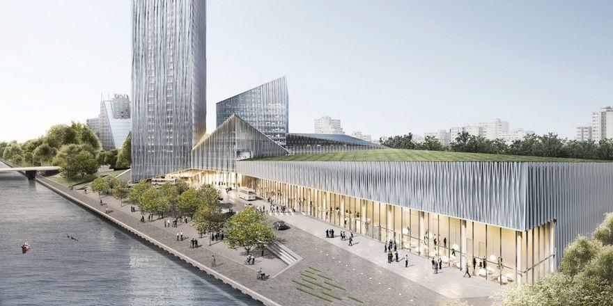 Noch eine Vision: Der Estrel Tower in Berlin